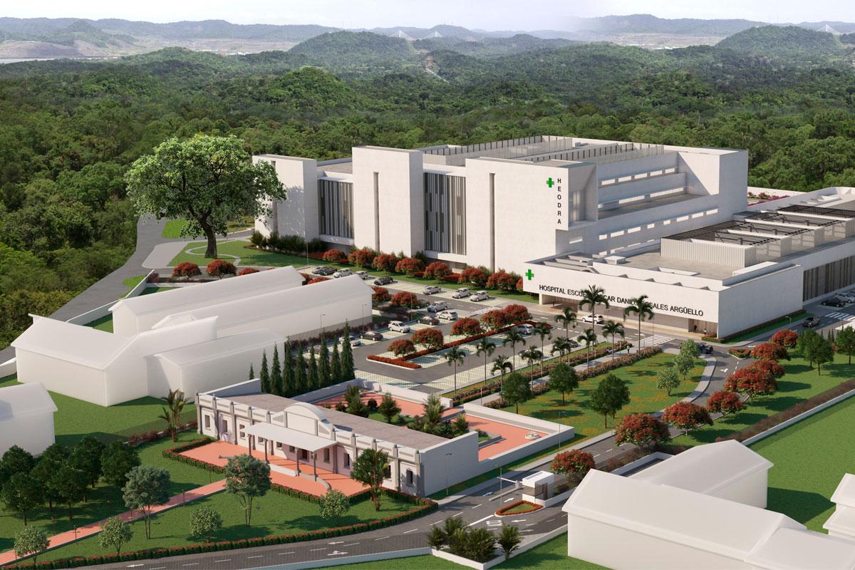 Nuevo hospital escuela Oscar Danilo Rosales Arguello (heodra) en la ciudad de león.
