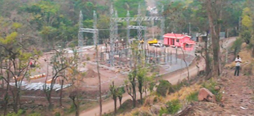 Construccion de pequeña central hidroelectrica (pch) el diamante, el jobo, san ramon, matagalpa.